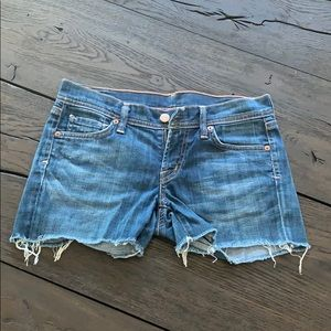 C of H Ava stretch low waist Jean shorts 25